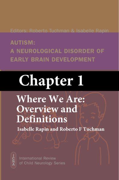 Chapter 1 AUTISM book ICNA7 Tuchman