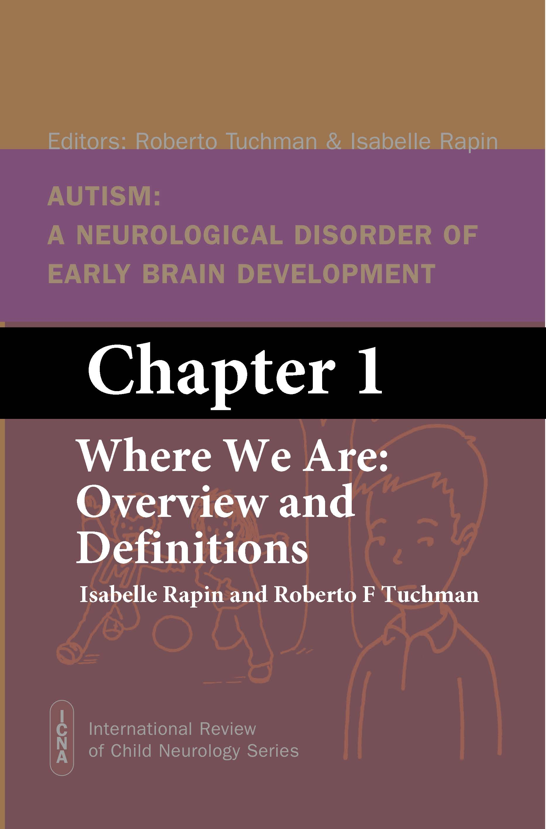 Chapter 1 AUTISM book ICNA7 Tuchman