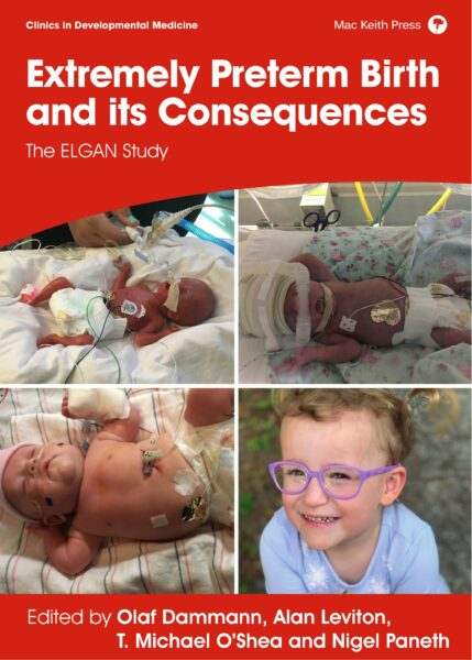 Damman, Extremely Preterm Birth and its Consequences, The ELGAN Study